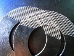 Набивка графита усиленная с металлической сеткой