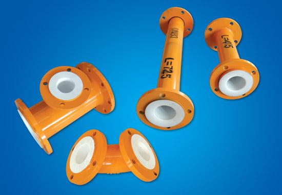 PTFE арматура-пластмасса составляющая трубка