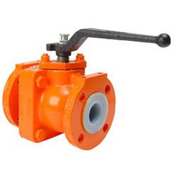 PTFE облицованная клапаны